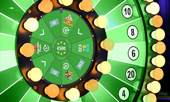 Unibet Bingo Loyalty Wheel