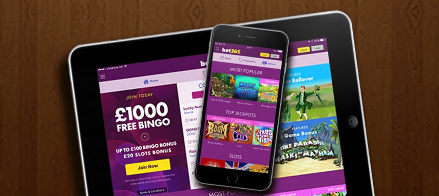 bet365 bingo slider photo
