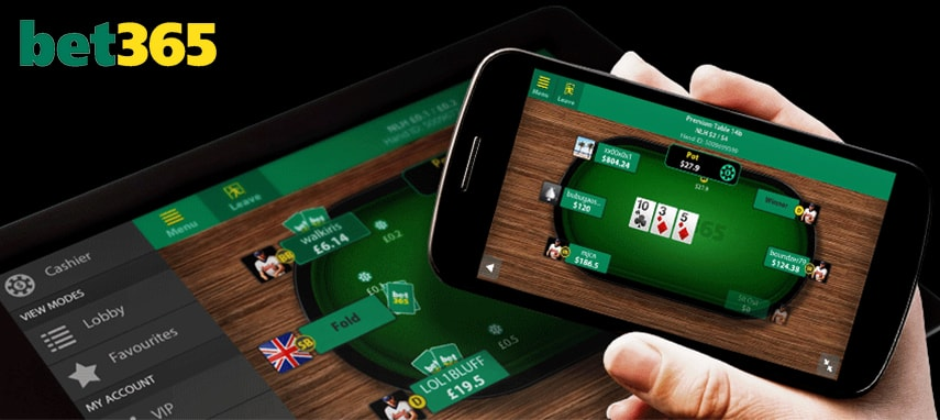 bet365 poker slider photo