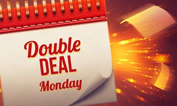 Guts Casino Double Deal monday