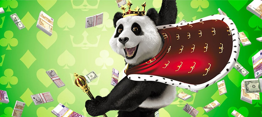 Royal Panda Casino Slider Photo