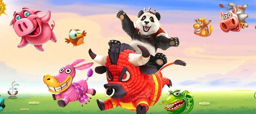 Royal Panda Casino Slider Photo