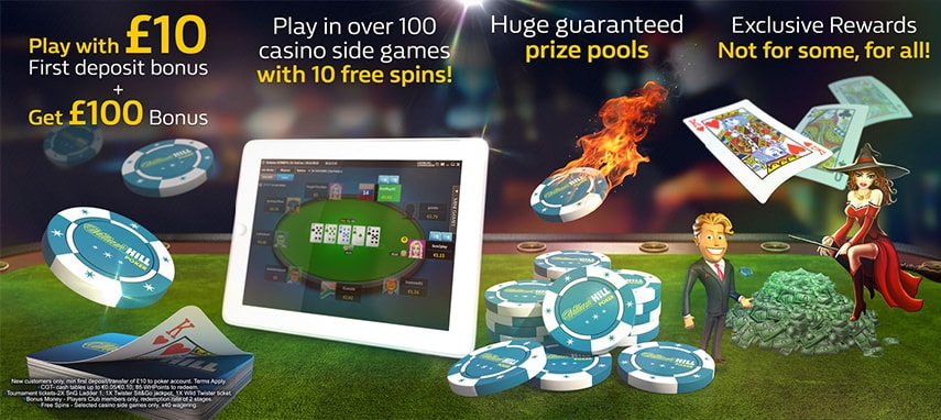 William Hill Poker slider photo