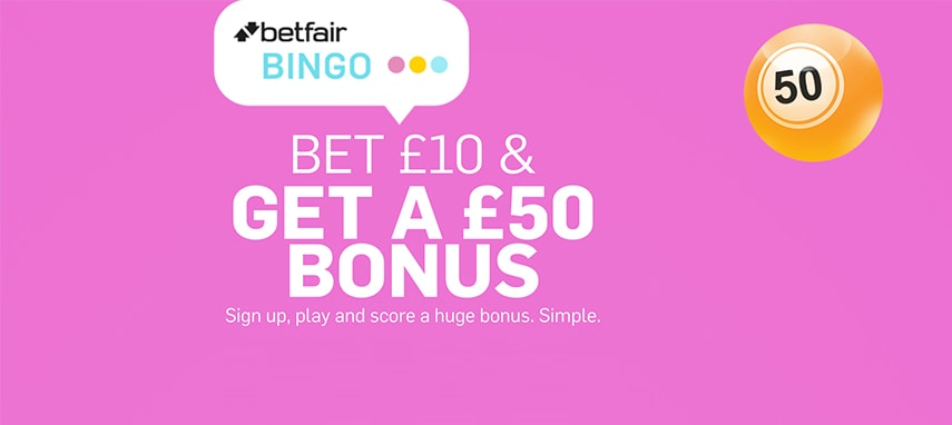Betfair bingo slider photo