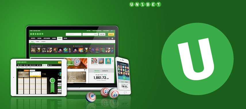 Unibet bingo slider photo
