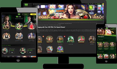 888casino Screenshots