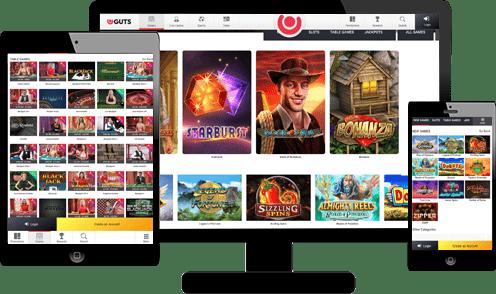 Guts Casino Screenshots