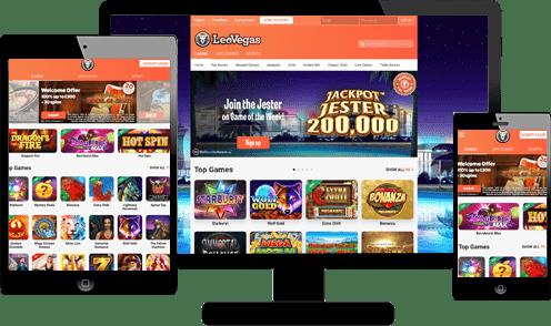 Leovegas Casino Screenshots