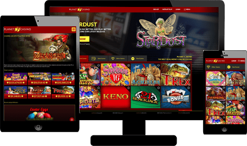 planet7 casino screenshot