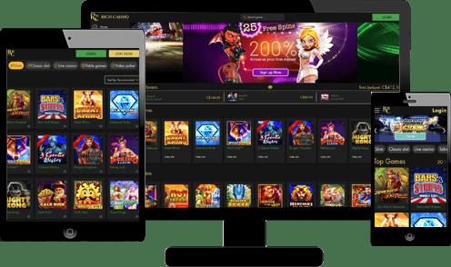 Rich Casino Screenshots