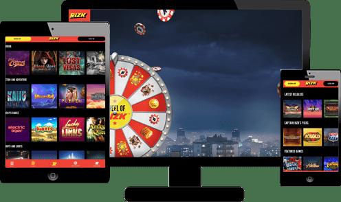 Rizk Casino Screenshots