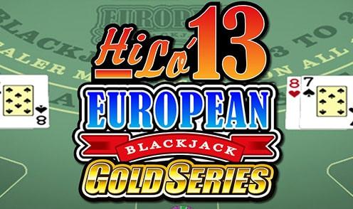 Hi Lo 13 European Blackjack Review