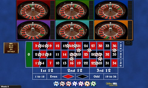 Multiwheel Roulette by Playtech Review