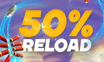 LOKI Casino 50% Reload Bonus