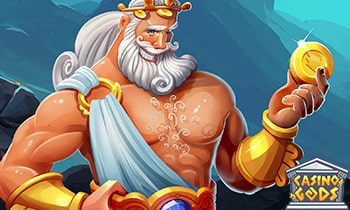 Casino Gods Welcome Package up to $1,500 and 300 Free Spins