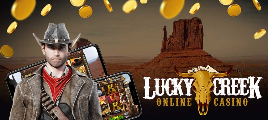 Lucky Creek Casino Slider 1