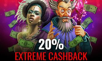 casino extreme cashback
