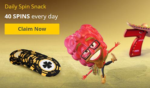 pokie spins daily spin snack bonus