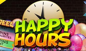 target slots happy hours