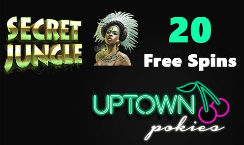 uptown pokies secret jungle bonus