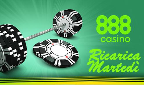 888 casino reload tuesday bonus