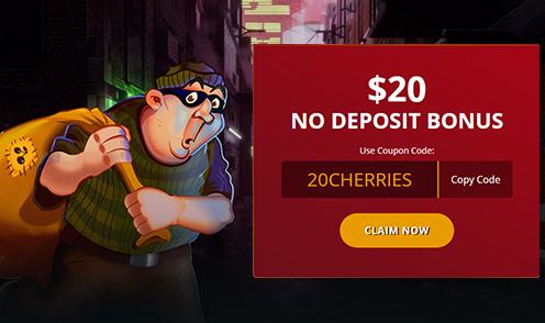 cherry gold 20 no deposit bonus