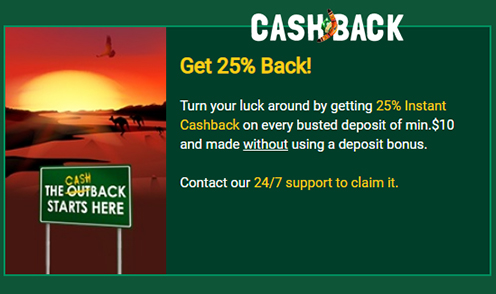fair go casino cashback