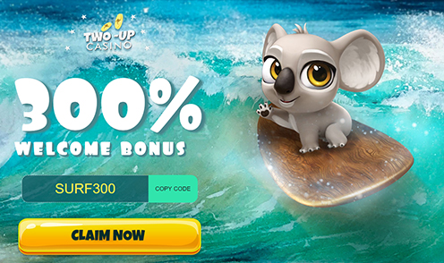 two up 300% welcome bonus